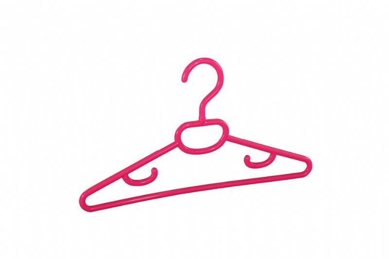 Kid's hangers with Notches and Swivel hooks