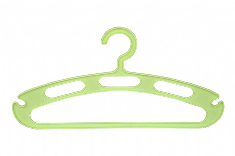 Shirt hangers with holes