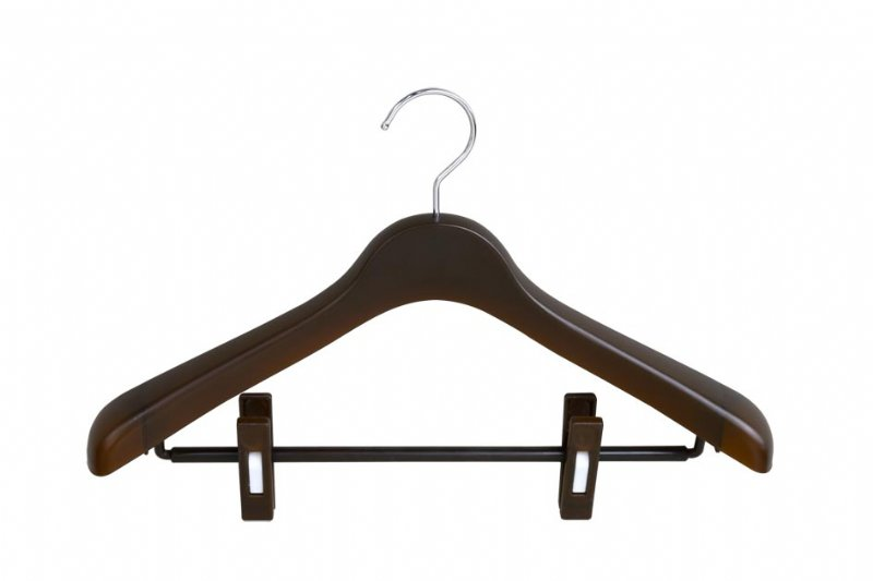 Women's Suit hangers with clips