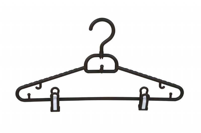 Shirt hangers with clips