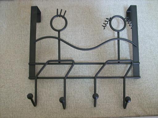 Over-the-Door People Hanger with 4 Hooks