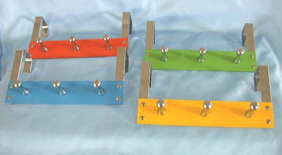 Over Door Hangers with 3 coat hooks