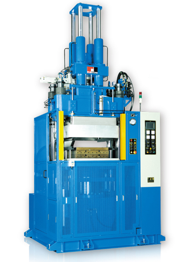 Vertical Vauum Rubber Injection Molding Machine(with Telescoped Vacuum Chamber)