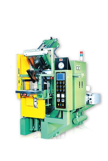 Slab-Side Type Vacuum Rubber Compression Molding Machine