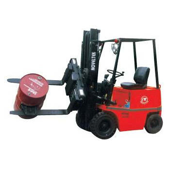 Four Wheels Electric Forklift  (Load: 1.5TONS/2TONS/2.5TONS)+ ROTATING 360XFORK CLAMP