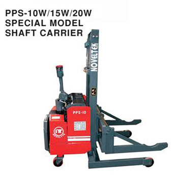 Powered Pallet Stacker Special Model Shaft Carrier(Load:1Ton/1.5Tons/2Tons)PPS-10W/15W/20W