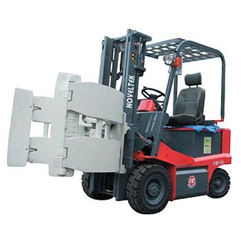 Advanced Electric Forklift Truck (Load:1.5Tons/2Tons/2.5Tons) + Barrels folder / roll folder Clamp