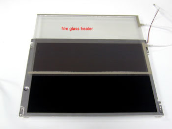 Film glass heater
