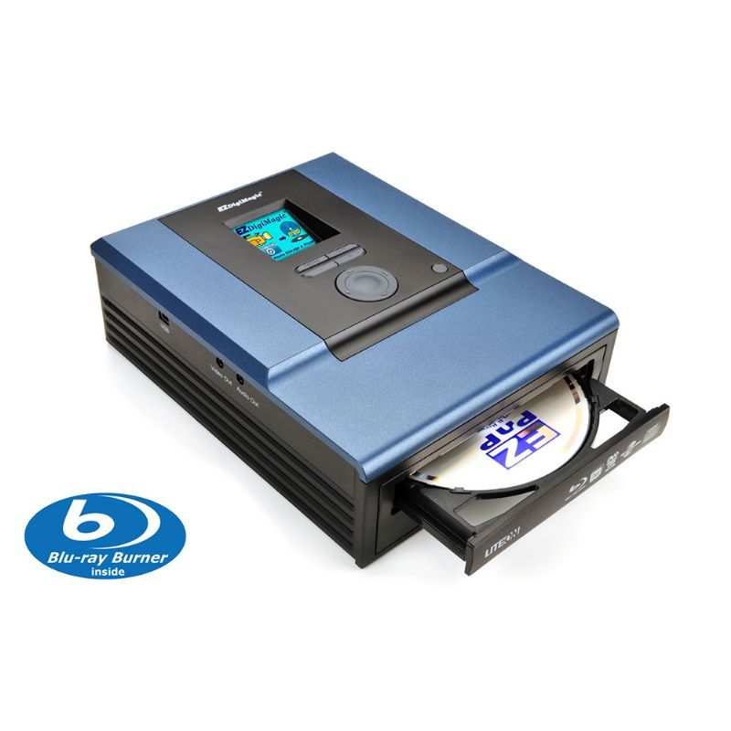 Desktop M-Disc Supported Blu-ray Burner with no PC required
