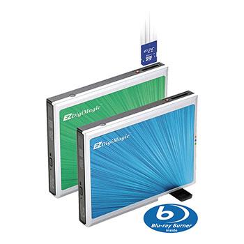 Single Button Portable Storage Device