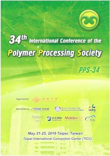 34th International Conference of Polymer Processing Society (PPS-34)- 2018