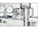 Máquina para hacer automáticamente las mascarrillas prendido con cinta elásticas