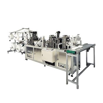Dust Mask Making Machine (Flat Folded Mask Making Machine, Clam Type Mask Machine, 3D Mask Machine, 3 Panels Mask Machine)