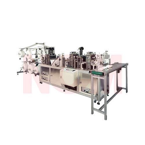 Dust Mask Making Machine (Flat Folded Mask Making Machine, Clam Type Mask Machine, 3D Mask Machine, 3 Panels Mask Machine)