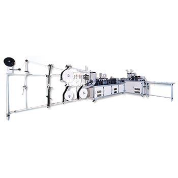 3D Mask / Ear loop 3D Mask Making Machine (3 panels mask machine)