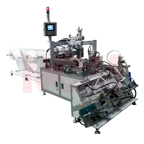 Beauty mask making machine
