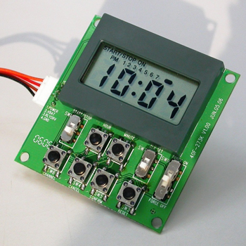 power On/off Time switch,  7 channels