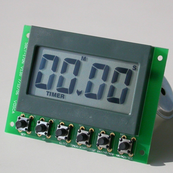 timer module with clock