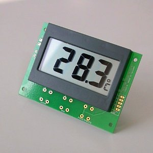 LCD Digital Thermometer Module