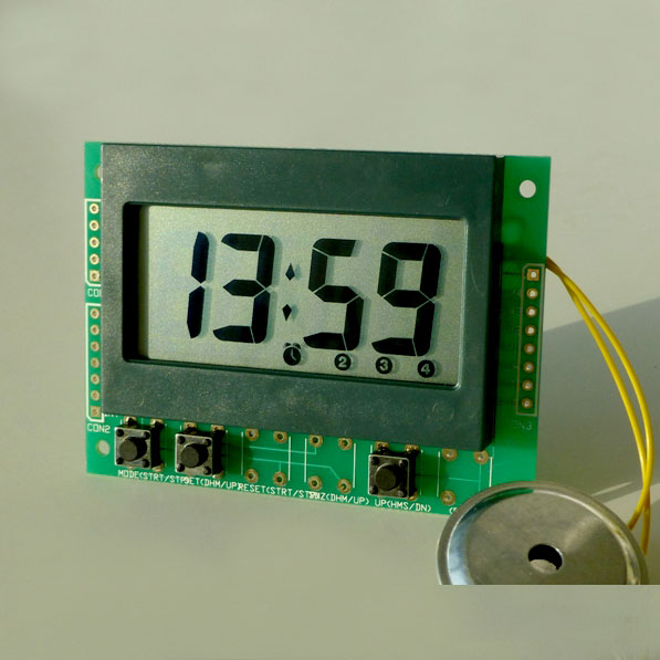perpetual alarm clock module