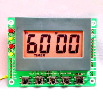 99 hour 59 minutes Countdown/Up Timer Module with LED Back-light