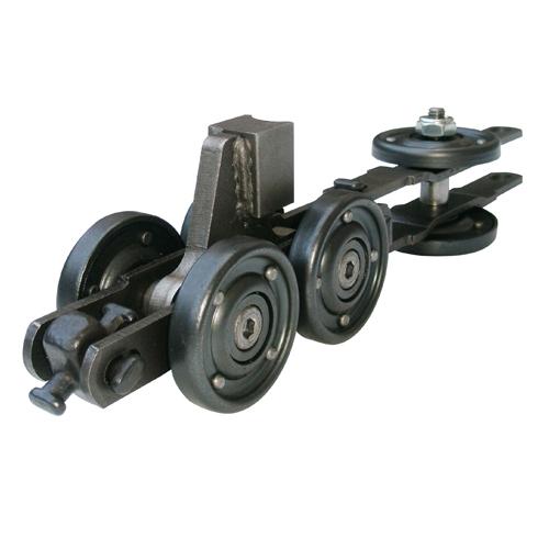 7 Ton Enclosed Track Floor Conveyor Chain Short Pusher