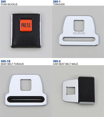 SEATBELT BUCKLE-PUSH TYPE-305