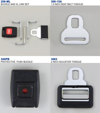 SEATBELT BUCKLE-PUSH TYPE-306