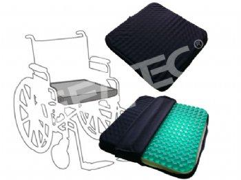 GSC-003-1 Transparent Massage Gel Foam Seat Cushion