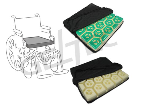 HC Seat Cushion(Modular) Hexagonal Cells (Gel) Foam Seat Cushion