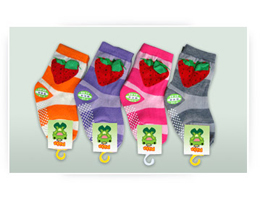 Strawberry Kids Socks
